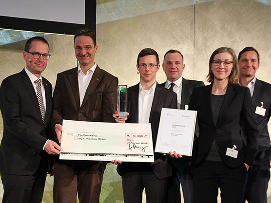 Fraunhofer Founder's Prize for Mojin Robotics