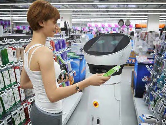 "Care-O-bot® 4 as shopping assistant ""Paul"""
